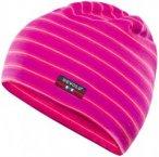 Devold - Breeze Kid Cap - Mütze Gr 54 cm grau/rosa