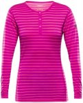 Devold - Breeze Woman Button Shirt - Merinounterwäsche Gr S rosa