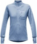 Devold - Thermo Woman Jacket - Wolljacke Gr M blau/grau