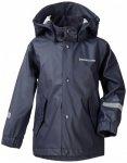 Didriksons - Kid's Pölen Galon Jacket - Regenjacke Gr 100 schwarz/blau/grau