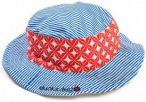 Ducksday - Kid's Matching Hat - Hut Gr M;S weiß/grün;rot/rosa;grau/rosa/weiß;