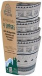 EcoSouLife - 4 Sippers 4 Pack - Schüsselset tribal bliss