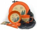 EcoSouLife - Camper Set - Geschirr-Set Gr Side Plate orange