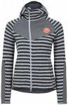 Edelrid - Women's Creek Fleece Jacket - Fleecejacke Gr L;M;S;XS rot;grau/schwarz