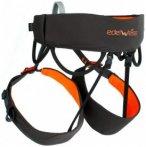 Edelweiss - Sitzgurt Dart - Klettergurt Gr 1 - 69-89 cm schwarz/orange