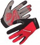 Endura - Hummvee Plus Glove - Handschuhe Gr S schwarz/rot/grau
