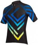 Endura - PT Maze S/S Jersey LTD - Radtrikot Gr L schwarz/blau