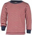 Engel - Kinder Pullover - Merinopullover Gr 116 rot/rosa/beige