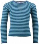 Engel - Kinder Unterhemd L/S - Longsleeve Gr 176 blau/türkis