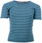 Engel - Kinder Unterhemd S/S - T-Shirt Gr 176 blau/türkis/grau