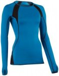 Engel Sports - Women's Shirt L/S Slim Fit - Longsleeve Gr M blau