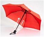 EuroSchirm - Dainty Automatic - Regenschirm rot