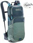 Evoc - CC 10L + 2L Bladder - Bike-Rucksack Gr 10 + 2 l grau/blau