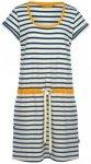 Finside - Pirjo - Kleid Gr 36 grau/weiß