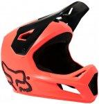FOX Racing - Kid's Rampage Helmet - Radhelm Gr S rot/schwarz