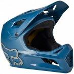 FOX Racing - Kid's Rampage Helmet - Radhelm Gr S blau/schwarz