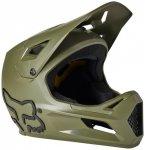 FOX Racing - Kid's Rampage Helmet - Radhelm Gr S oliv/schwarz/grau