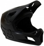 FOX Racing - Kid's Rampage Helmet - Radhelm Gr S schwarz