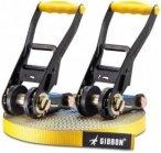 Gibbon Slacklines - Flow Line Set - Slackline Gr 25 m gelb