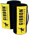 Gibbon - Tree Wear XL - Slackline Gr 2 x 200 cm schwarz/gelb
