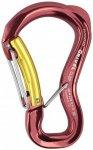 Grivel - Clepsydra S - Verschlusskarabiner rot/gelb