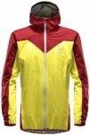 Haglöfs - L.I.M Comp Jacket - Hardshelljacke Gr L;M;XL;XXL orange/braun;türkis