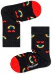 Happy Socks - Kid's Happy Rainbow Sock - Multifunktionssocken  0-12 Month schwar