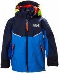 Helly Hansen - Kid's Shelter Jacket - Hardshelljacke Gr 5 blau/schwarz