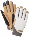 Hestra - Apex Touchpoint Long 5 Finger - Handschuhe Gr 10 grau/beige/weiß