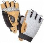 Hestra - Bike Guard Short 5 Finger - Handschuhe Gr 6 grau/beige/schwarz