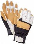 Hestra - Climbers Long - Handschuhe Gr 7 beige/schwarz/weiß/grau
