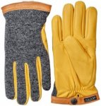 Hestra - Deerskin Wool Tricot - Handschuhe Gr 10;11;7 grau/schwarz;orange/grau