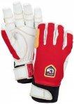 Hestra - Ergo Grip Active 5 Finger - Handschuhe Gr 7 rot/weiß/grau