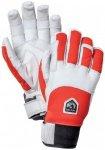 Hestra - Ergo Grip Descent 5 Finger - Handschuhe Gr 6 grau/rot