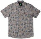 Hippy Tree - Chalet Woven - Hemd Gr L;M schwarz/braun/grau