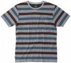 Hippy Tree - Hampton Tee - T-Shirt Gr M grau/blau/schwarz