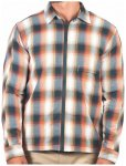 Hurley - Bravo Poler Lined Shacket - Hemd Gr M;S grau/blau/schwarz;grau/beige