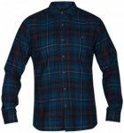 Hurley - Kurt Woven L/S - Hemd Gr L;M;XXL schwarz;schwarz/blau