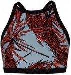 Hurley - Women's Quick Dry Koko High Neck Surf Top Gr S;XS schwarz/grau/rot;schw