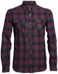 Icebreaker - Lodge L/S Flannel Shirt - Hemd Gr L;M;S;XL;XXL schwarz;blau/schwarz