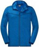 Jack Wolfskin - Sutherland Hooded Jacket - Fleecejacke Gr XXL blau