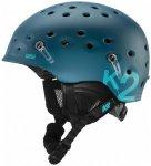 K2 - Route - Skihelm Gr L/XL blau/schwarz/grau/türkis