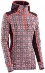 Kari Traa - Women's Rose Hood - Merinounterwäsche Gr L;M;S;XL grau/beige;grau/r