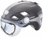 KED - B-Vis - Radhelm Gr M grau/braun