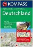 Kompass - Deutschland 3D - Wanderkarte Dvd-Rom