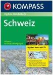 Kompass - Schweiz - Wanderkarte Dvd-Rom