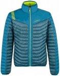 La Sportiva - Combin Down Jacket - Daunenjacke Gr L;M;S;XL;XXL schwarz;türkis/b