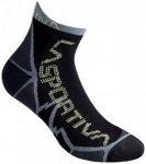 La Sportiva - Long Distance Socks - Laufsocken Gr S schwarz/grau