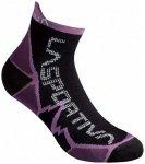 La Sportiva - Long Distance Socks - Laufsocken Gr S schwarz/lila