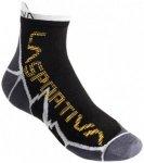 La Sportiva - Long Distance Socks - Socken Gr L;M;S;XL schwarz;schwarz/grau;schw